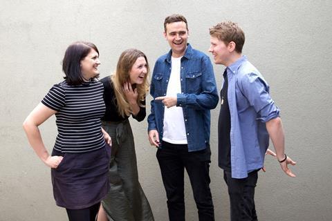 Kate Herron, Maia Krall Fry, Rory Jackson and Nick Rowland